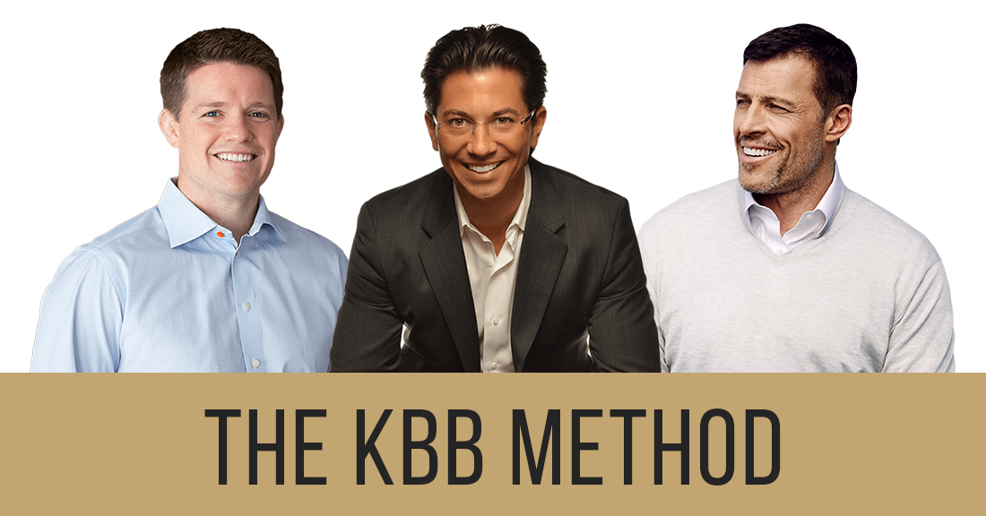 The KBB Method - Russell Brunson, Dean Graziosi, Tony Robbins